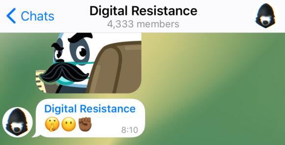 Anonyme Gruppen-Admins beim neuen Telegram (Quelle: telegram.org)