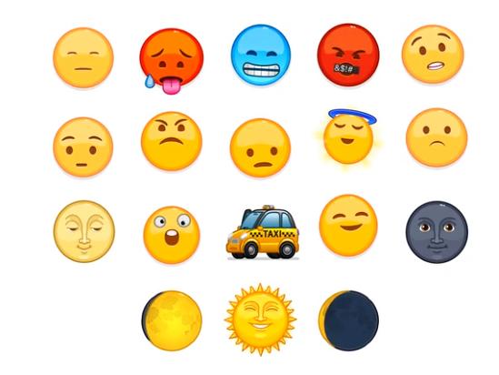 Neue animierte Emojis