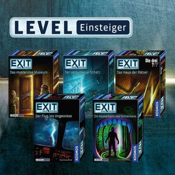 Exit-Spiele für Einsteiger