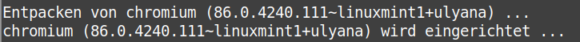 Chromium lässt sich nun unter Linux Mint und LMDE installieren