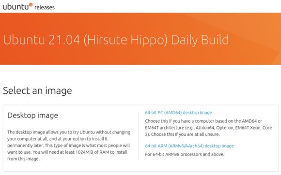 Ubuntu 21.04 Hirsute Hippo – Daily Build