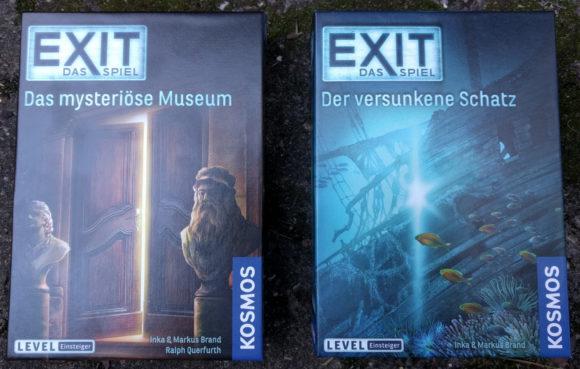 Exit-Spiele – Das mysteriöse Museum und Der versunkene Schatz