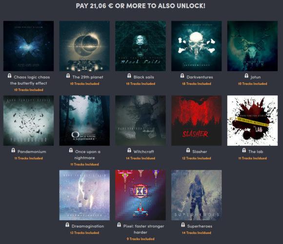 Weitere 13 Alben für 21 Euro