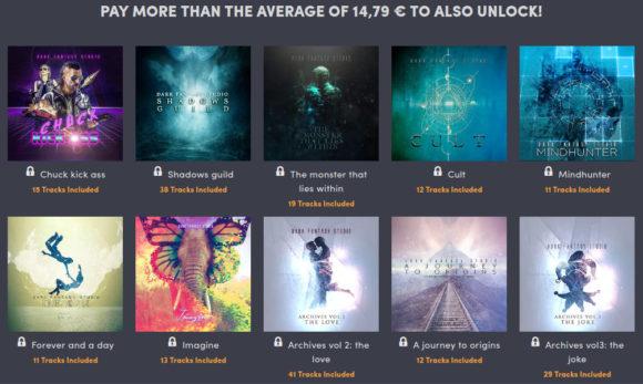 Schlage den Durchschnitt und erhalte 10 zusätzliche Alben