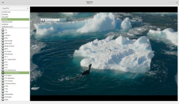 IPTV – Hypnotix (Quelle: linuxmint.com)