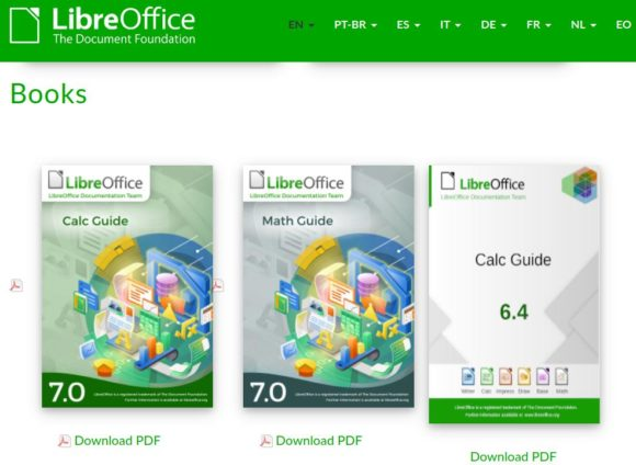 LibreOffice Calc Guide 7.0 ist verfügbar