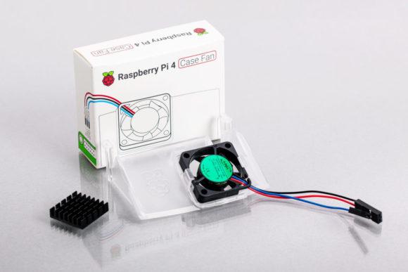 Der neue Lüfter für den Raspberry Pi 4 (Quelle: raspberrypi.org)