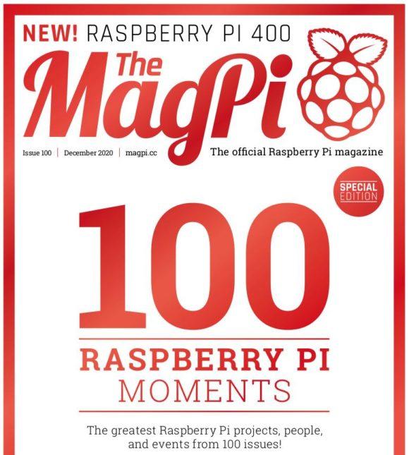 Das MagPi 100 ist eine ganz besondere Ausgabe