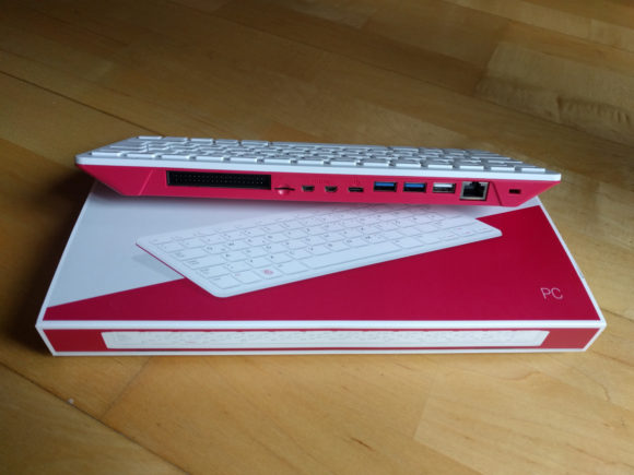 Die Anschlüsse und Ports des Raspberry Pi 400