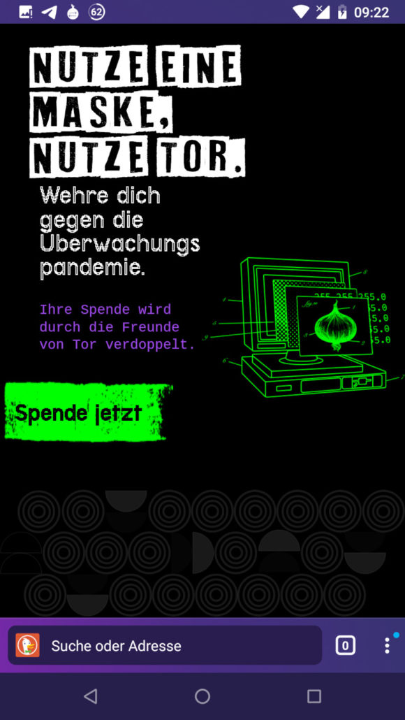 Tor Browser 10.0.4 für Android