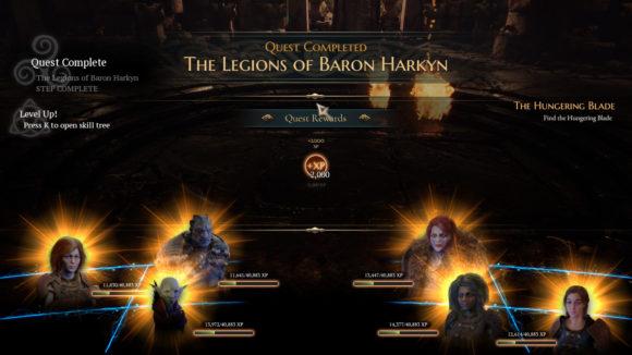 Die Legionen des Baron Harkyn …