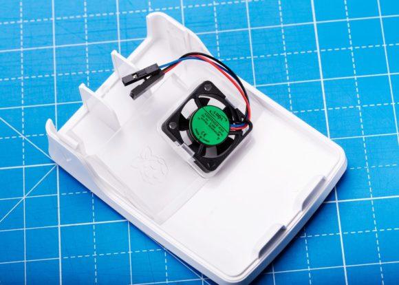 Gehäuse-Lüfter für den Raspberry Pi 4 (Quelle: raspberrypi.org)
