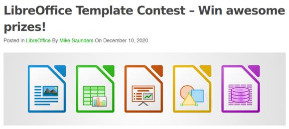 Vorlagen-Wettbewerb bei LibreOffice