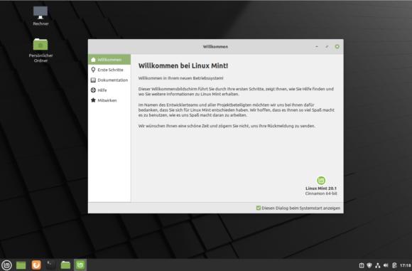 Linux Mint 20.1 Ulyssa darf getestet werden