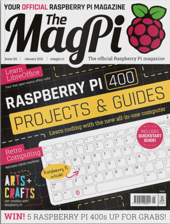 Im MagPi 101 dreht sich viel um den Raspberry Pi 400