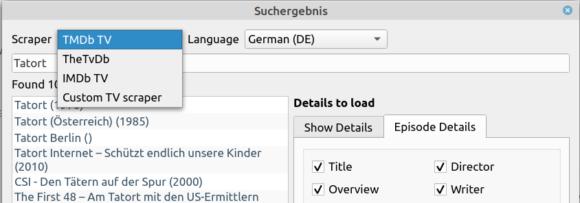 MediaElch 2.8 Coridian mit neuen Funktionen