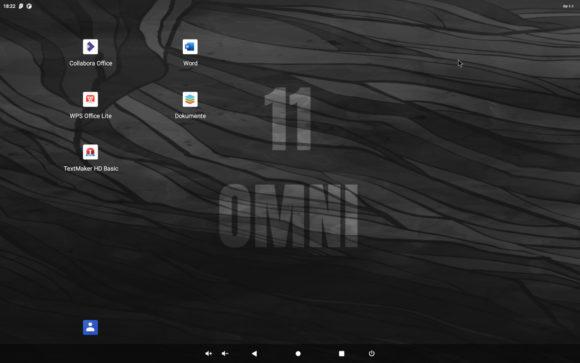 Verschiedene Office-Produkte für Android auf dem Raspberry Pi