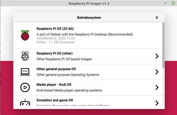 Verbesserter Raspberry Pi Imager