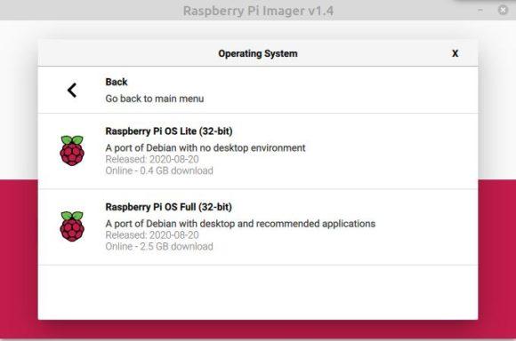 Mit dem Raspberry Pi Imager das Betriebssystem installieren