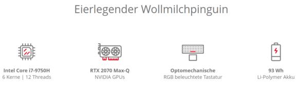 Optomechanische RGB-Tastatur