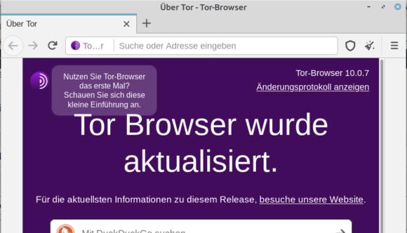 Tor Browser 10.0.7 ist ab sofort verfügbar