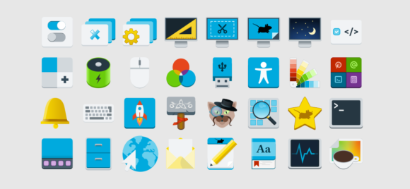 Xfce 4.16 mit neuen Symbolen (Quelle: xfce.org)