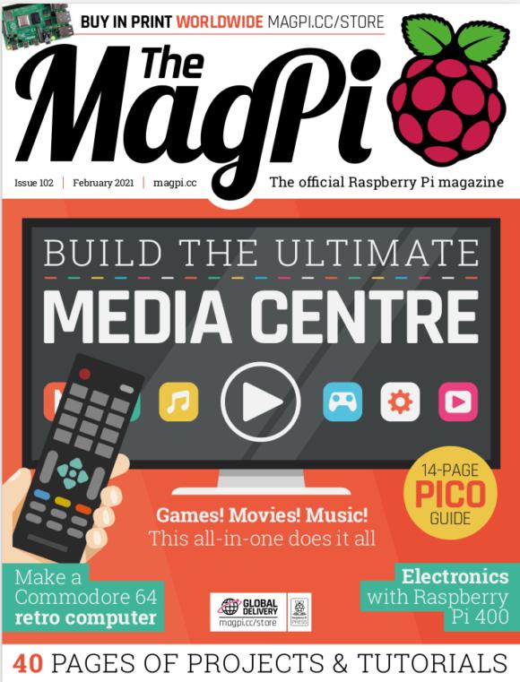 The MagPi 102 is da
