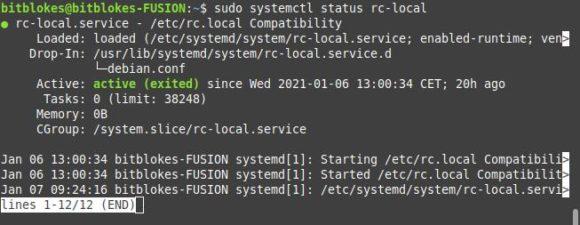 Ab sofort kannst Du die Funktionalität von /etc/rc.local wieder nutzen