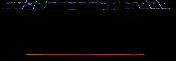 Stellen wir die Lichtleiste rot (36,0,0)