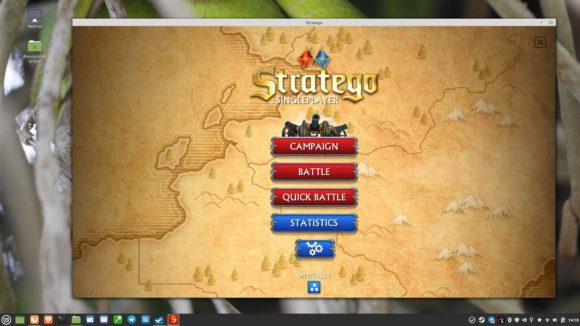 Stratego läuft unter Linux problemlos