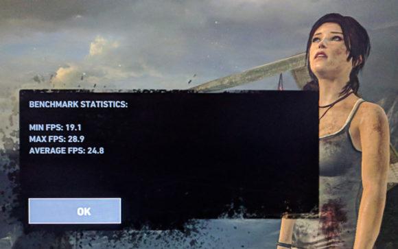 Tomb Raider mit der Intel-GPU