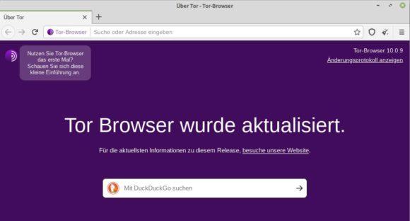 Tor Browser 10.0.9