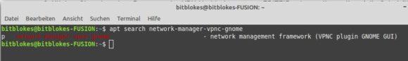 VPNC-Plugin für GNOME