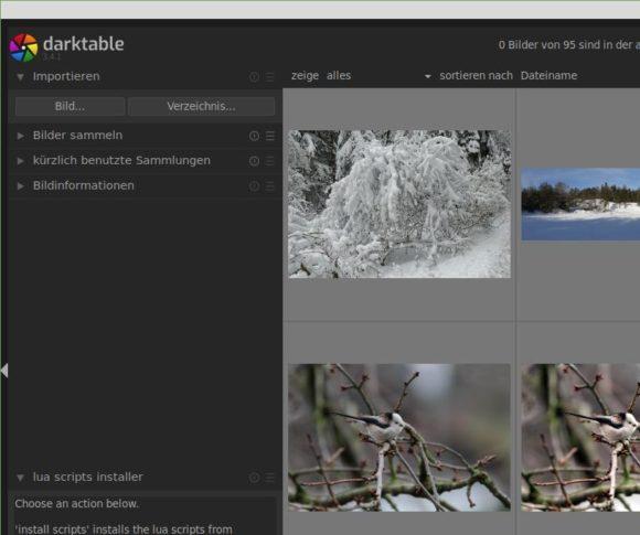 Darktable 3.4.1 ist verfügbar