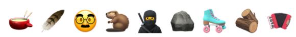 Viele neue Emojis in Threema 4.5