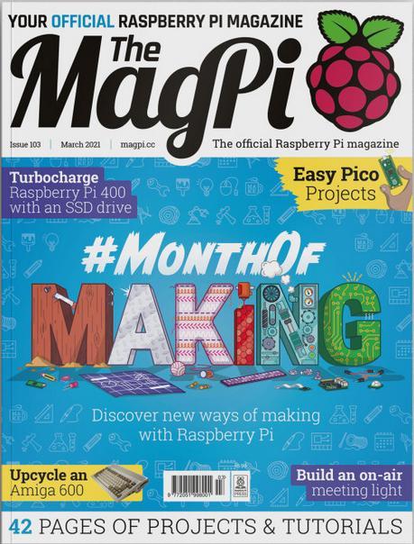 MagPi 103 ist da – PDF ist wie immer kostenlos