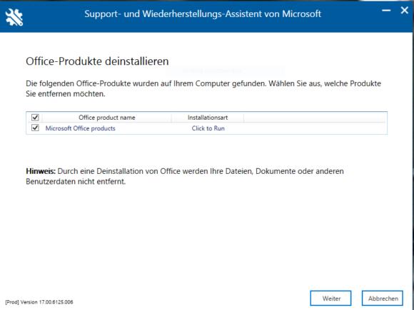 Endlich kann ich Microsoft Office unter Windows 10 deinstallieren