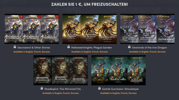 Tales of Warhammer – 1. Stufe