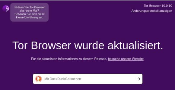Tor Browser 10.0.10