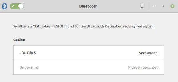 Mit dem Vorgänger-Kernel funktioniert Bluetooth