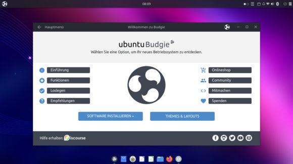 Willkommen zu Ubuntu Budgie für Raspberry Pi