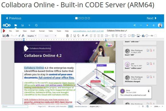 Collabora Online (CODE) für ARM 64