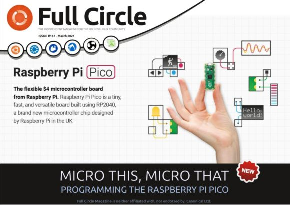 Full CIrcle Magazine 167 mit Raspberry Pi Pico im Fokus