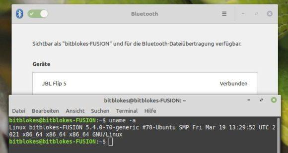 Eine Verbindung zu meinen Bluetooth-Geräten klappt wieder