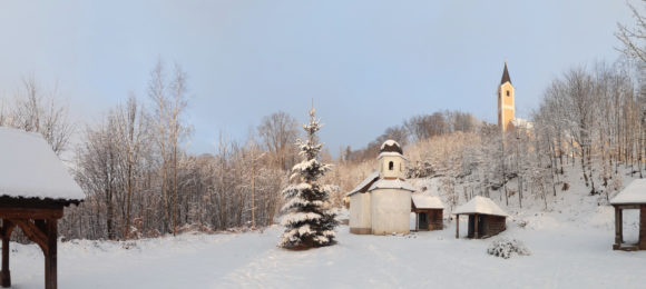 Mariahilfkirche und Kapelle auf dem Mariahilfberg