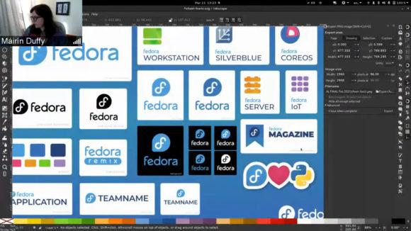 Das neue Logo von Fedora