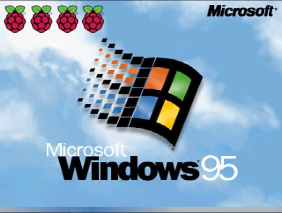 Microsoft hat Windows 95 für den Raspberry pi portiert