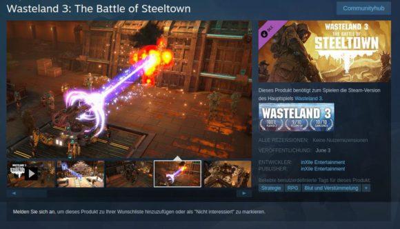 Battle of Steeltown erscheint am 3. Juni 2021