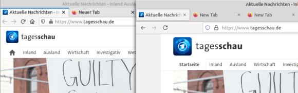 Firefox 89 mit neuem UI – gefällt mir gut