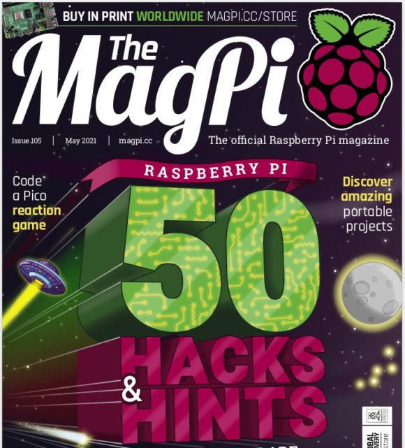 50 Tipps & Hack im MagPi 105 … werde ein besserer Maker